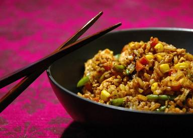 IBS Asian Style Fried Rice Lunch
