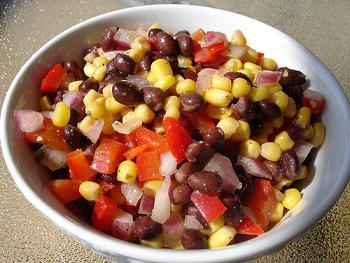 IBS Black Bean and Corn Salad Breakfast