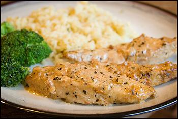 IBS Chicken with Sun-Dried Tomato Cream Sauce Lunch