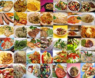 IBS Diet Collage