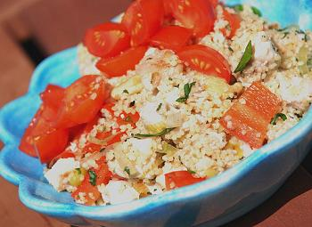 IBS Ginger Chicken Couscous Lunch