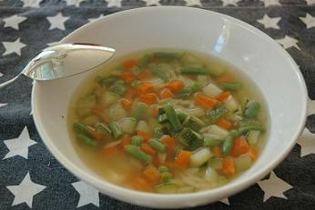 IBS Minestrone Soup Snack